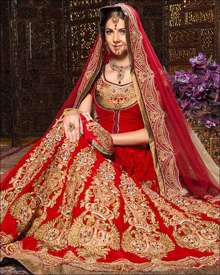 Indian Bridal Attire Look Book - Different Types Of Bridal Attires