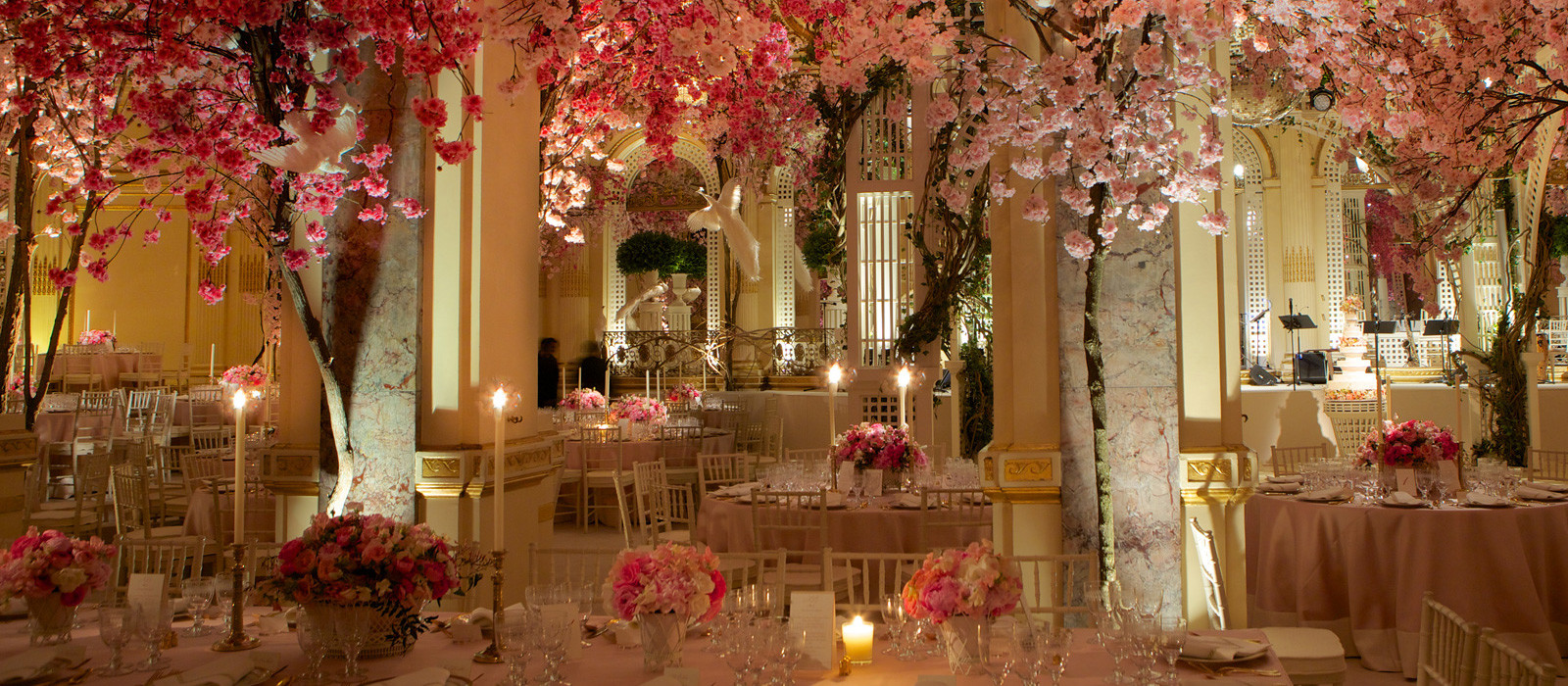 Find 5 star ac banquet halls and event venues at for Wedding venue decoration ideas pictures