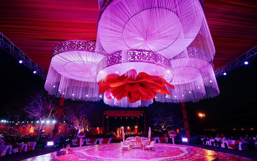 for Most beautiful wedding reception decorations