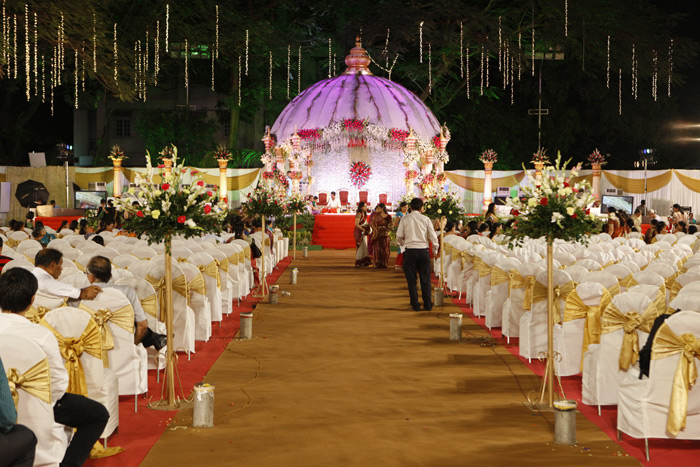 Wedding decoration in open ground images wedding dress decoration 8 key tips to have an amazing decoration set up for your function blogs by hamaraevent junglespirit Choice Image