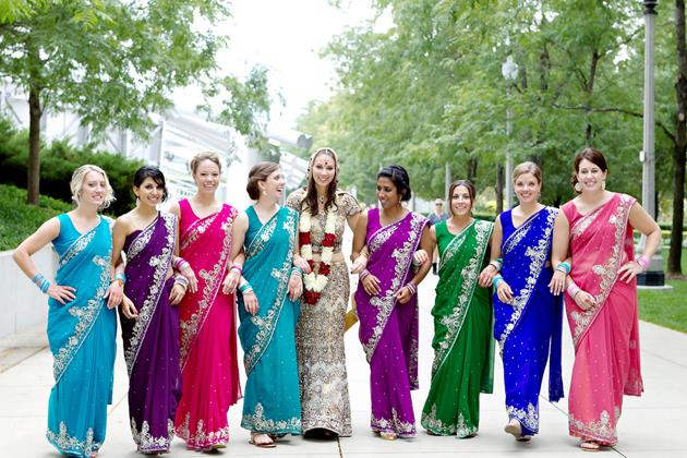 05four-day-multicultural-wedding-in-chicago-jen-lynne-photography-bride-bridesmaids-saris