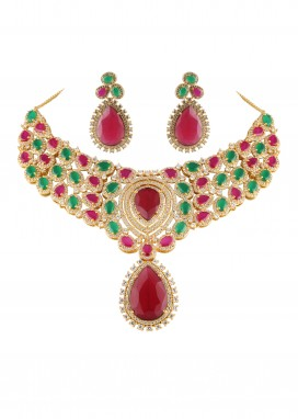 american-diamond-set-with-emerald-and-ruby-drop-120730