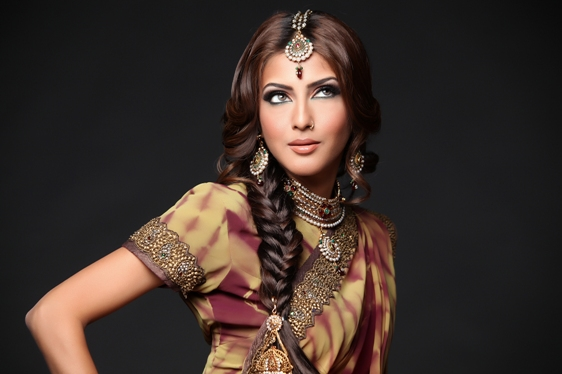 Some Gorgeous Indian Bridal Hairstyles Every Bride Must Check