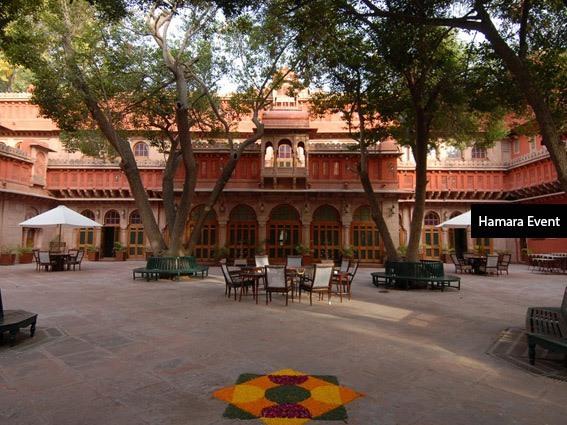 Dungarniwas-Courtyard