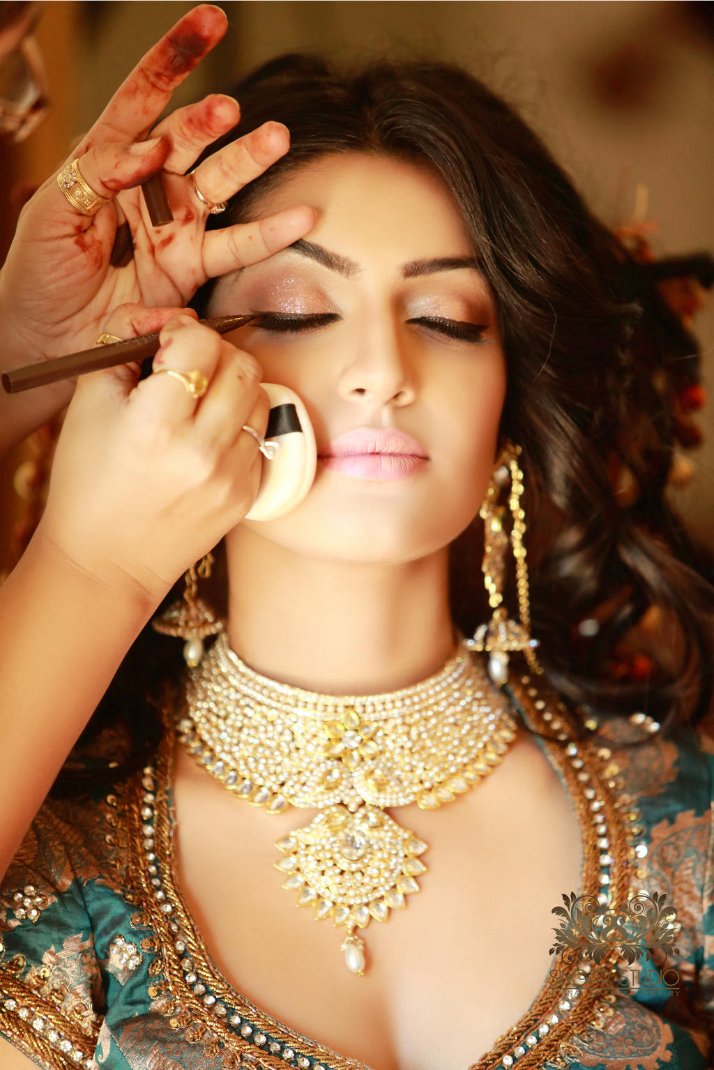 Indian Bridal Makeup For Day Wedding