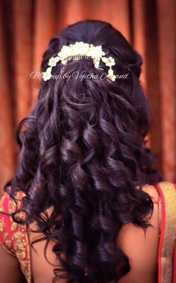 Seven Gorgeous Indian Wedding Hair Updos And Hairstyles For The New